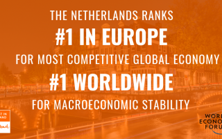 The Netherlands is Europe's Most Competitive Economy for the First Time